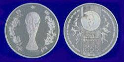 2002 FIFA World Cup Korea/Japan 1,000 yen Silver Coin